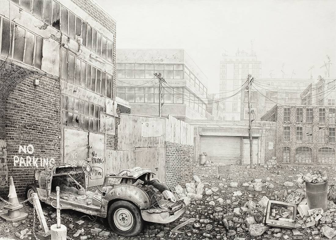 Laurie Lipton, pencil, drawing, the garden of earthly delights