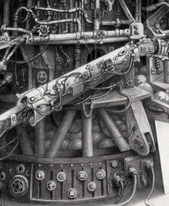 """Laurie Lipton drawing, """"LIKES""""detail, social media, technology, drawing, art, contemporary art, womens art"""